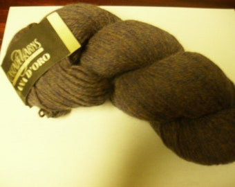 Alpaca Wool Blend Yarn Lana D'oro Color 1060 Ranier Heather Cascade Yarns Purple