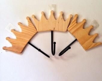 Walnut Hollow Crown Hooks -- Set of 3
