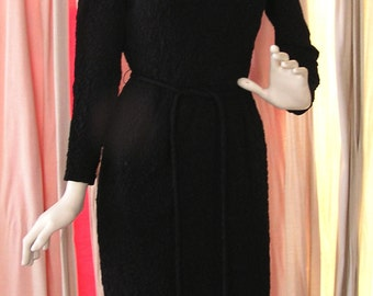 Vintage Carol Craig of New York Mad Men Wiggle Dress