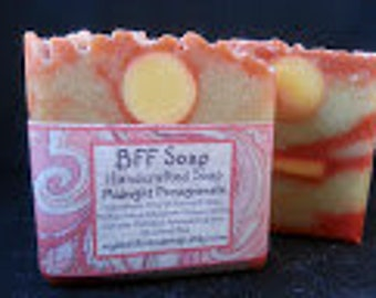Midnight Pomegranate, Soap, Handmade, Cold Process Soap