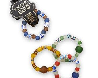 Trade Bead Bracelet, Stretch Bracelet, African Bracelet, Handmade, South African Bracelet, Handmade African Trade Bead Stretch Bracelet