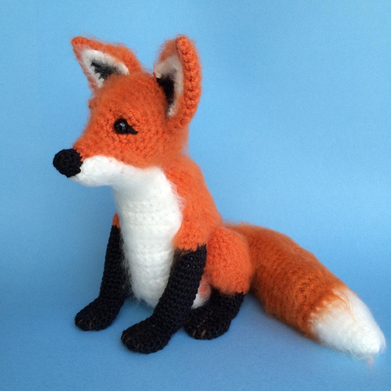 Free Crochet Fox Blanket Pattern : Crochet Fox Pattern by bvoe668 on Etsy