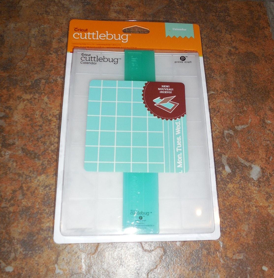 Provo craft cuttlebug 5x7 inch embossing folder calendar for Www cuttlebug crafts com