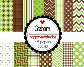 Digital Scrapbook Graham-INSTANT DOWNLOAD