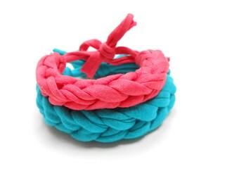 Braided Bracelet, Teen Friendship Bracelet, Baby Cotton Bracelet, Women Bracelet, Kids Bracelet, Girlfriend bracelet, boyfriend bracelet.