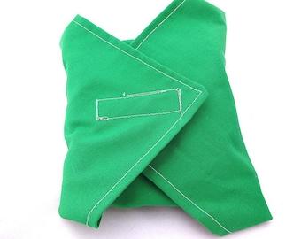 Green Reusable Sandwich Wrap