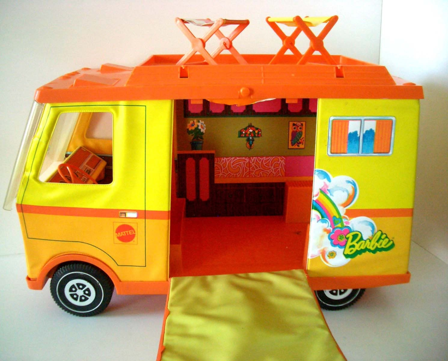 Vintage Barbie Van 19