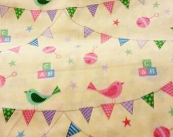 Precious Baby Shower My little Precious Nursery Print cotton fabric sold by 1/2 yard