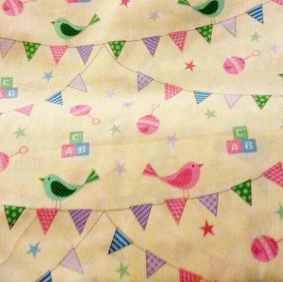 Precious baby shower my little precious nursery print for Baby nursery fabric yard