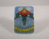 Shrinky Dinks Aqua Man Tie Tack or Pin