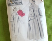 1950s Coat Pattern Vogue S4291 1950s Swagger Coat Vogue Special Design Rare Original Pattern