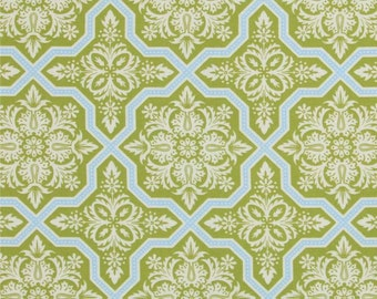 Joel Dewberry Tile Flourish in Green for the Heirloom Collection