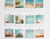 SALE 25% OFF 2014 Mini Calendar - Art, seaside photography, nature photo, desk calendar, coastal art, ocean, Christmas gift ideas, colourful - CassiaBeck