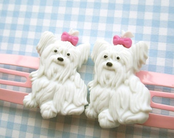 Pampered Pooch Snap Hair Clips
