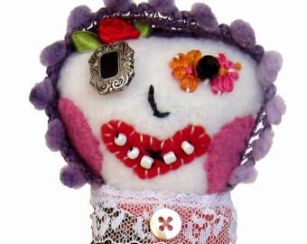 Marabelle - a  sweet clown doll