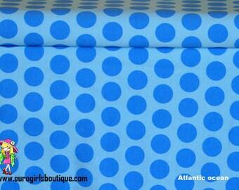 1 yard Euro Dots Atlantic Ocean Knit