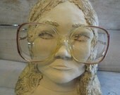 80s Italian Eye frames Womens Large Elsa Double Hinged  Great Condition