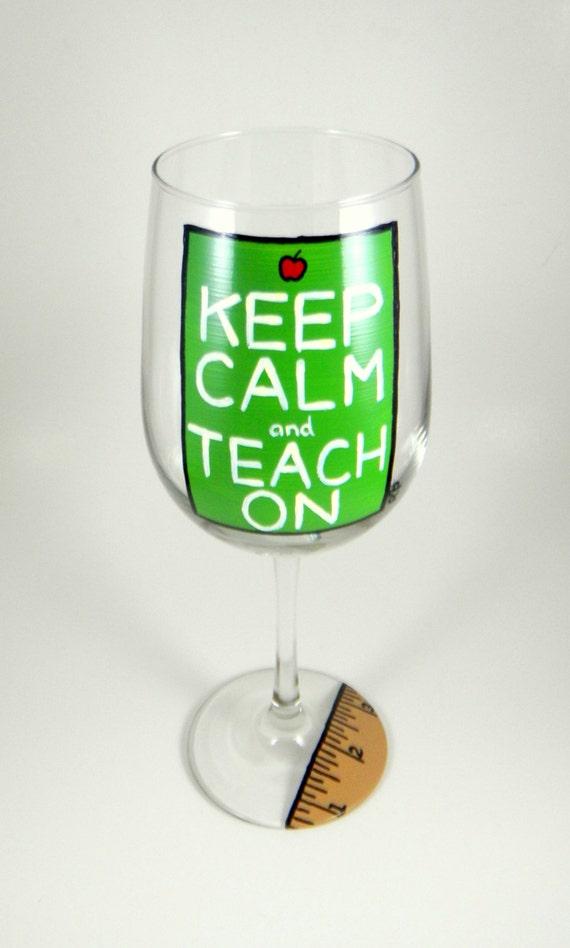 Teacher gift, school, Keep Calm and Teach On