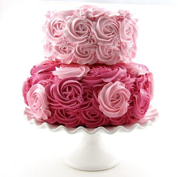 Stackable Wedding Cake Cookies