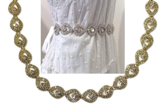 Gold bridal sash peacock wedding sash bridal dress jewelry for Peacock wedding dress sash