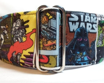 Star Wars Greyhound, Galgo, Whippet, Saluki, Pit Bull, Great Dane, Dog Martingale Collar