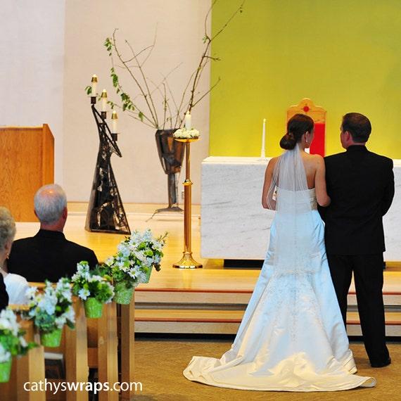 10 Church Pew Decorations Wedding Ceremony VASES Amp By Cathyswraps