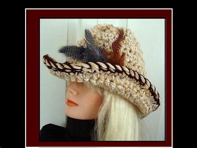 Cowboy Hat Designs Cowboy Cowgirl Hat Crochet