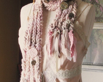 Enchanted Forest Scarf - Lavender Dawn
