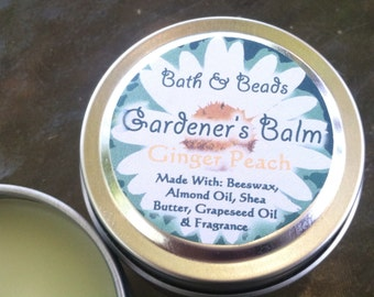 Gardener's Balm Ginger Peach Scented for Rough Dry Skin