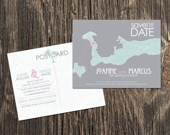 Cayman Islands - Save the Date - Destination Wedding