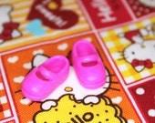 Middie Blythe Medium Barbie Pink Mary Jane Doll shoes