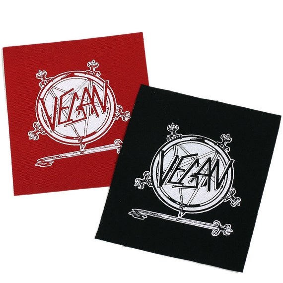 PATCH Vegan Iron-On 3.5 x 4 inches