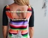 Rainbow Woven Mexican Ser...