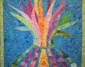 Light Grows Art Quilt