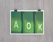 A-OK - 4 x 6 fine art photograph