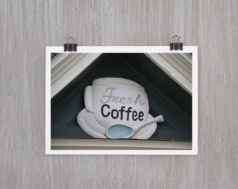 Fresh Coffee at Lily Dale - 4x6 photograph