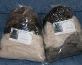 SALE…GRAB BAG Shetland Mystery Roving. 4 ounces.