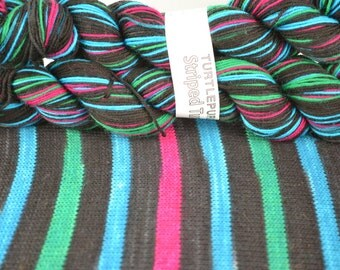 Comic Strip - Hand-dyed Self-striping sock yarn