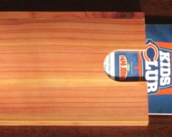 4 Aromatic Cedar Gift Card Holders