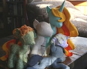 All Six Pony Patterns, Digital Combo Package: Original Pony, Stallion, Filly / Colt, Beanie, Princess, and Manes / Tails (Plushie, Toy)