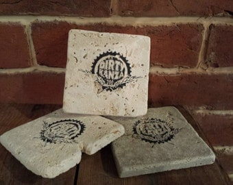 Dirty Kanza 200 stone coasters