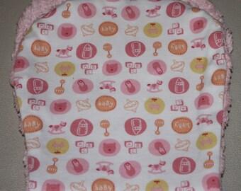 3 Baby Burp Cloth  Size 18 X 5