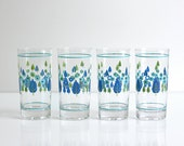 Mid Century Swiss Alpine Drinking Glasses by Marcrest