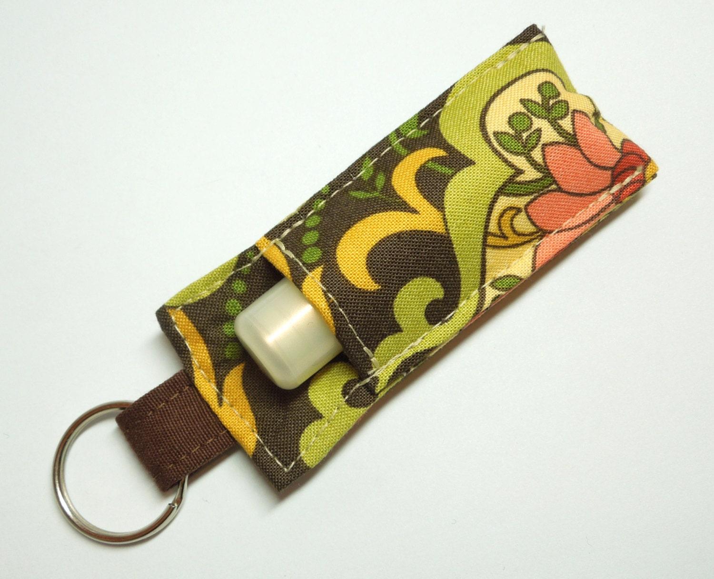 Case Design belt loop phone case : Lip Balm Key chain Chapstick Holder chap stick by thameowdesigns