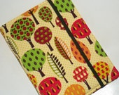 Kindle Cover Hardcover Paperwhite Kindle Fire HD 7 Nexus 7 Cover Hard cover Retro Trees eReader Cover
