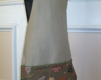 Boys fishing or cooking apron size 7-10