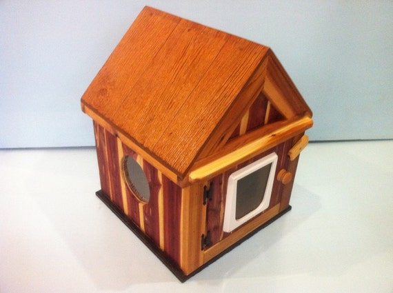 CEDAR Outdoor CAT HOUSE (Ships Next Bus. Day), bed, shelter