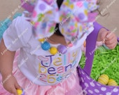 Easter Jelly Beans 25 cents First Easter Embroidered Shirt 0-3,  3-6, 6-12, 12-18, 18, 24 month 2T 4T 6T