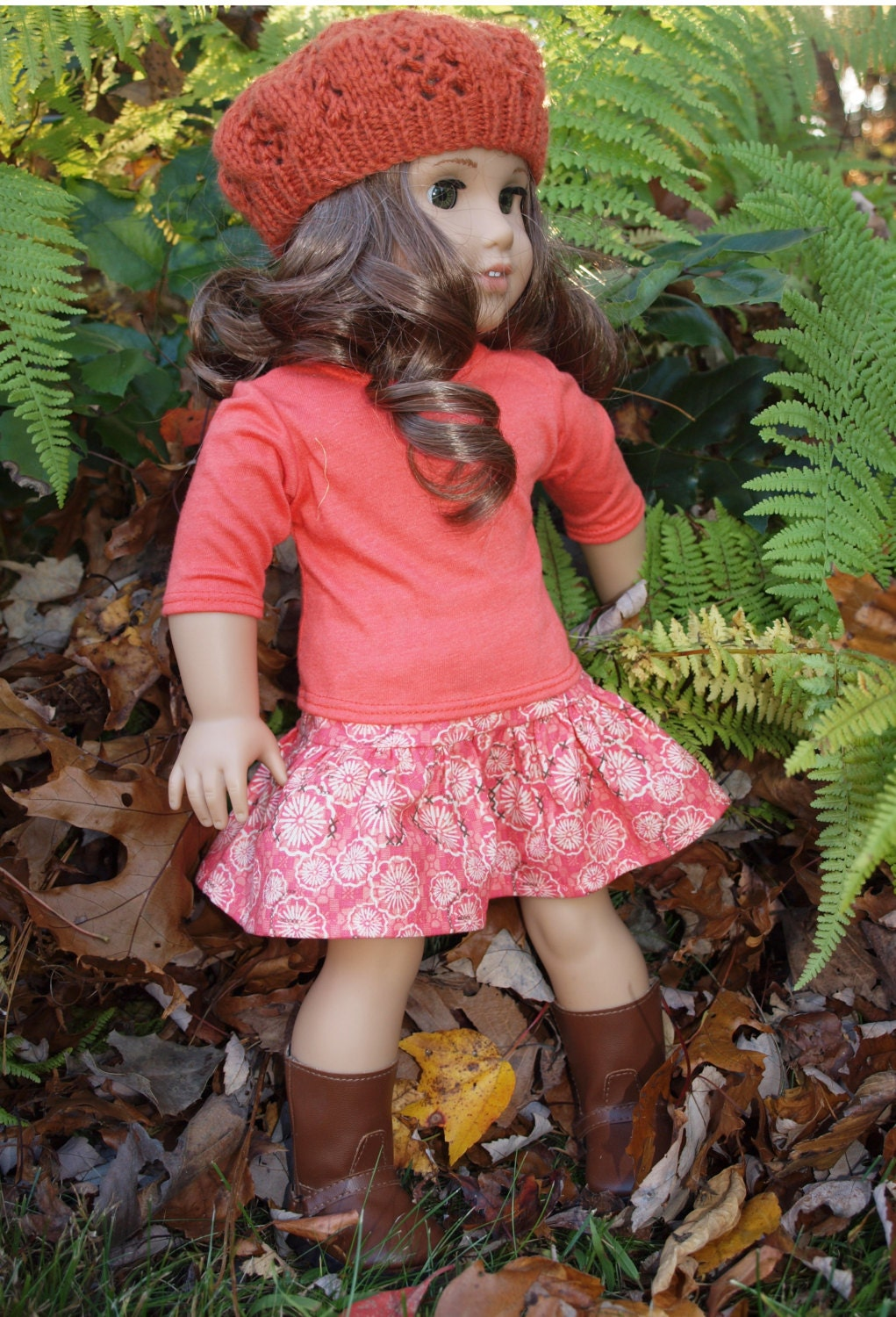 18 inch dolls clothes american girl doll clothes skirt outfit for Garden tools for 18 inch doll