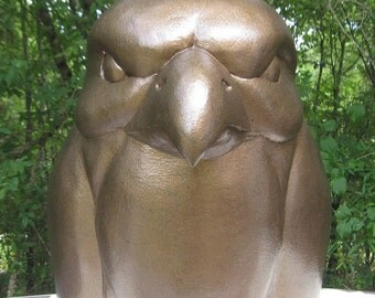 Hawk/Eagle Mascot Head